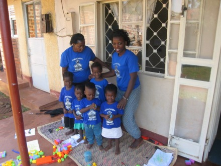 Daycare children and their Facilitators